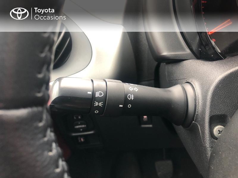 Photo 15 de l'offre de TOYOTA Aygo 1.0 VVT-i 69ch x-red 5p à 8680€ chez Altis - Toyota Vannes