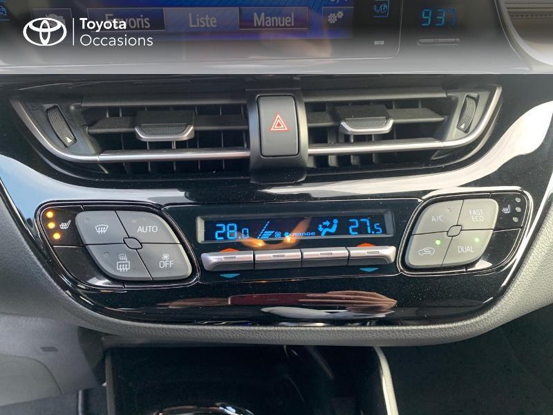 Photo 22 de l'offre de TOYOTA C-HR 122h Distinctive 2WD E-CVT à 20980€ chez Altis - Toyota Vannes