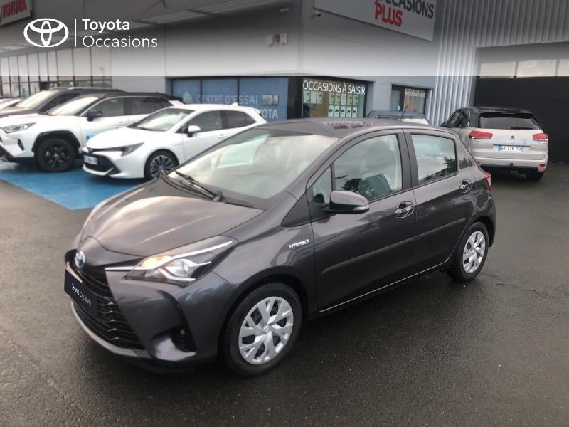 Photo 25 de l'offre de TOYOTA Yaris 100h France 5p RC18 à 12980€ chez Altis - Toyota Vannes