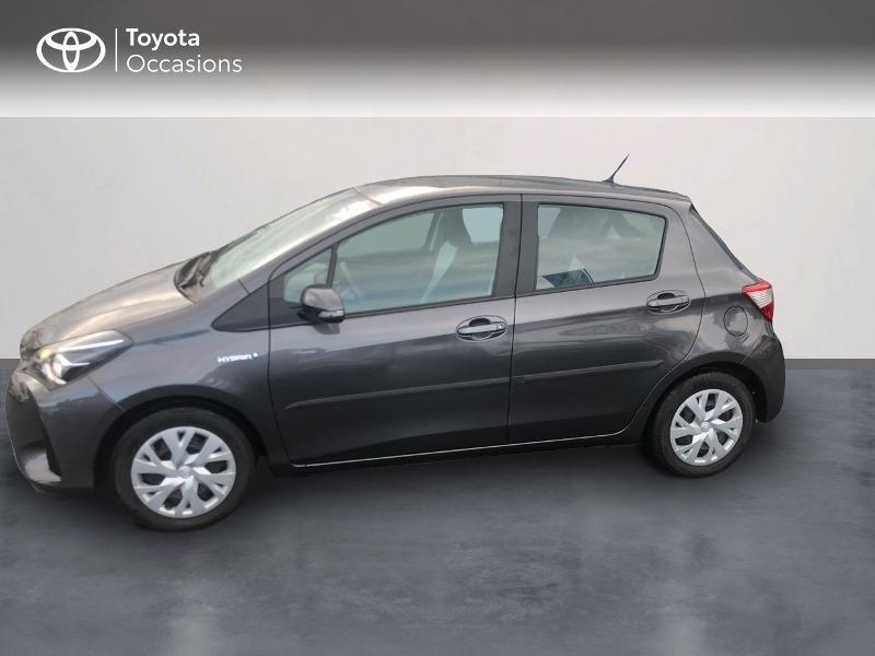 Photo 3 de l'offre de TOYOTA Yaris 100h France 5p RC18 à 12980€ chez Altis - Toyota Vannes