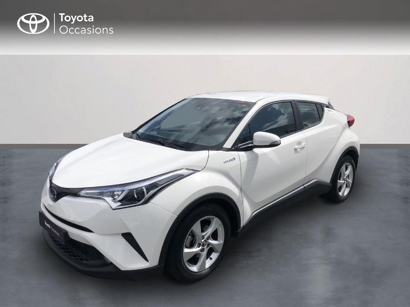 Toyota C-HR 122h Dynamic 2WD E-CVT RC18 Hybride blanc Occasion à vendre