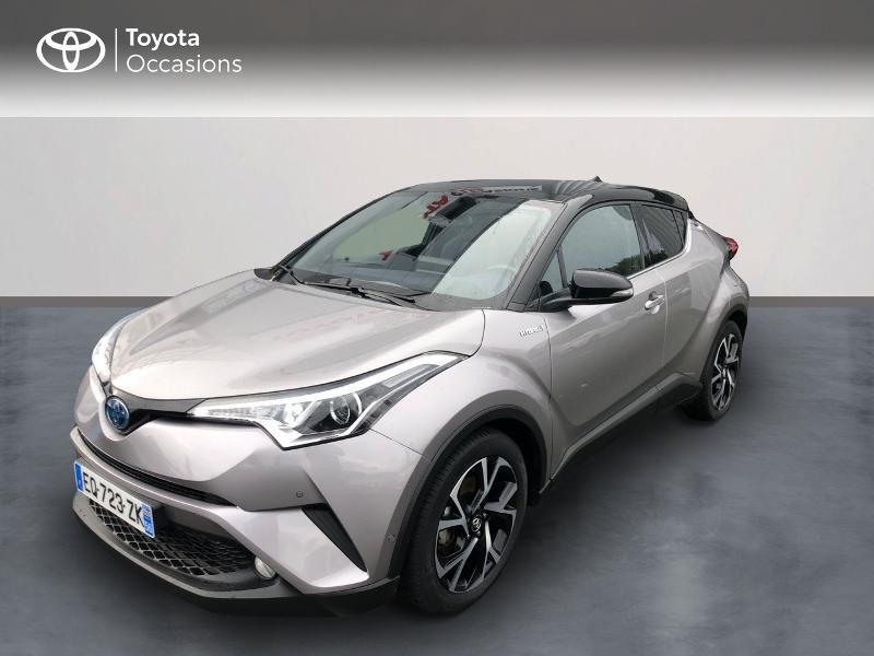 Toyota C-HR 122h Graphic 2WD E-CVT Hybride GRIS PLATINIUM Occasion à vendre