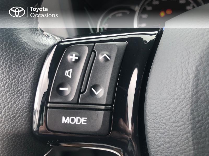 Photo 20 de l'offre de TOYOTA Yaris 100h France 5p RC18 à 12980€ chez Altis - Toyota Vannes