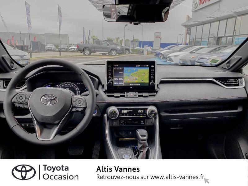 Photo 5 de l'offre de TOYOTA RAV4 Hybride Rechargeable 306ch Collection AWD à 57480€ chez Altis - Toyota Vannes