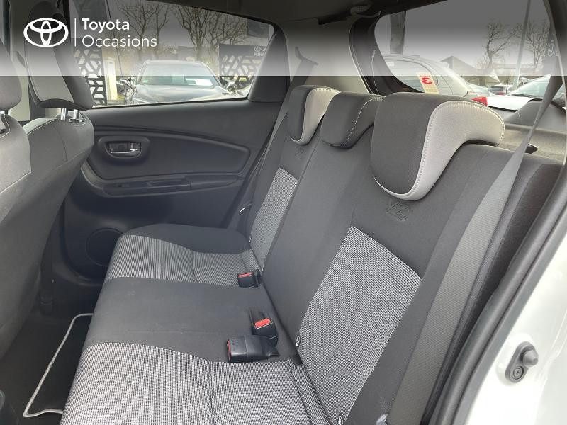 Photo 12 de l'offre de TOYOTA Yaris 70 VVT-i Design Y20 5p MY19 à 12980€ chez Altis - Toyota Vannes