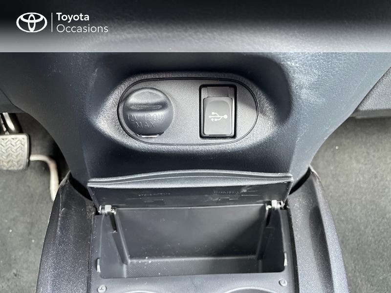 Photo 22 de l'offre de TOYOTA Yaris 70 VVT-i Design Y20 5p MY19 à 12980€ chez Altis - Toyota Vannes