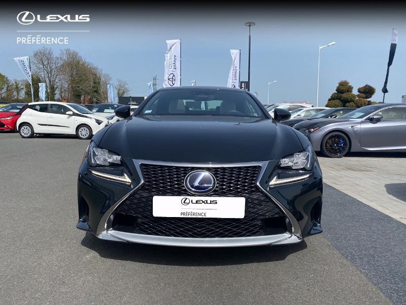 Photo 27 de l'offre de LEXUS RC 300h F SPORT Executive à 39980€ chez Altis - Toyota Vannes