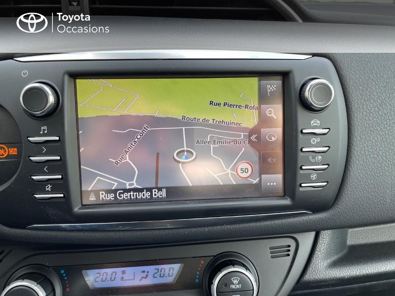 Photo 18 de l'offre de TOYOTA Yaris 70 VVT-i Design Y20 5p MY19 à 12980€ chez Altis - Toyota Vannes