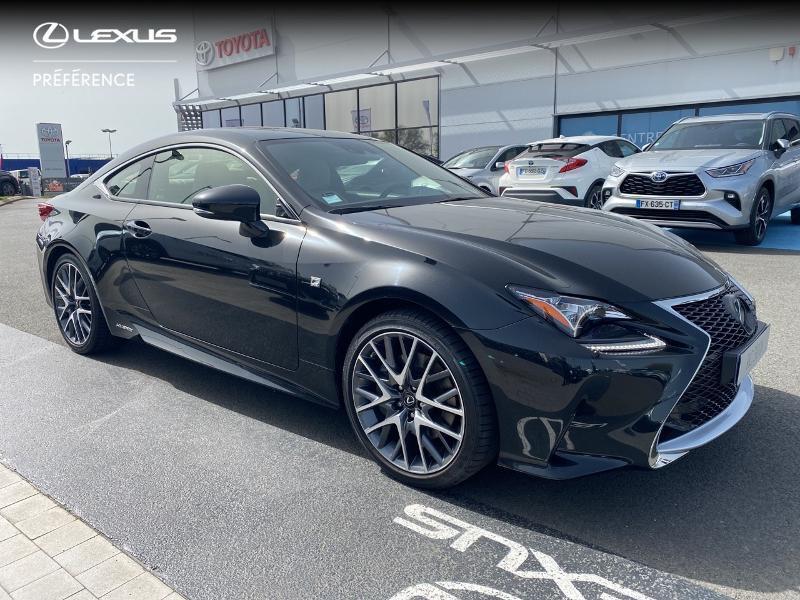 Photo 19 de l'offre de LEXUS RC 300h F SPORT Executive à 39980€ chez Altis - Toyota Vannes