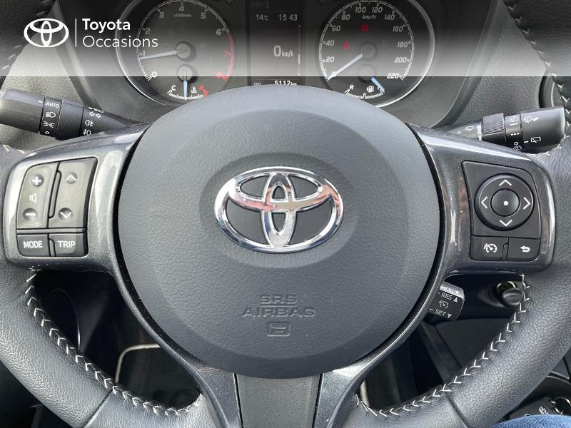 Photo 13 de l'offre de TOYOTA Yaris 70 VVT-i Design Y20 5p MY19 à 12980€ chez Altis - Toyota Vannes