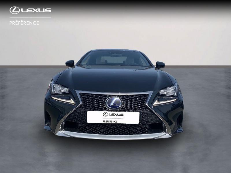 Photo 5 de l'offre de LEXUS RC 300h F SPORT Executive à 39980€ chez Altis - Toyota Vannes