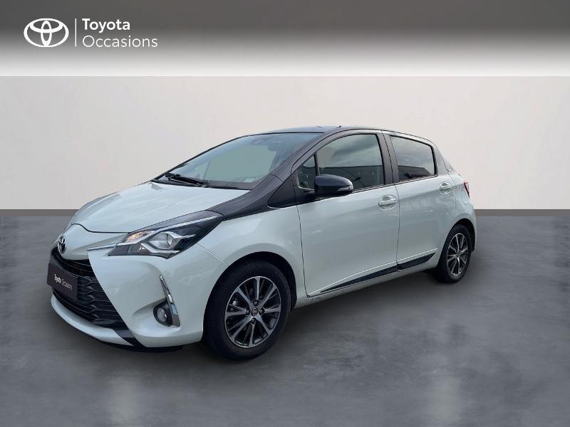 Photo 1 de l'offre de TOYOTA Yaris 70 VVT-i Design Y20 5p MY19 à 12980€ chez Altis - Toyota Vannes