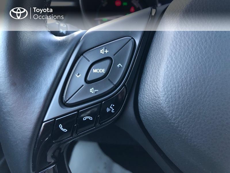 Photo 19 de l'offre de TOYOTA C-HR 122h Collection 2WD E-CVT à 22980€ chez Altis - Toyota Vannes