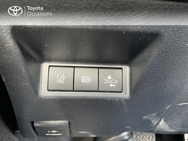 Photo 19 de l'offre de TOYOTA Yaris 70 VVT-i Design Y20 5p MY19 à 12980€ chez Altis - Toyota Vannes