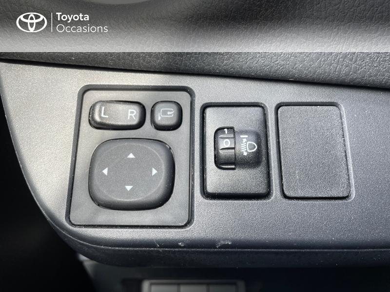 Photo 20 de l'offre de TOYOTA Yaris 70 VVT-i Design Y20 5p MY19 à 12980€ chez Altis - Toyota Vannes