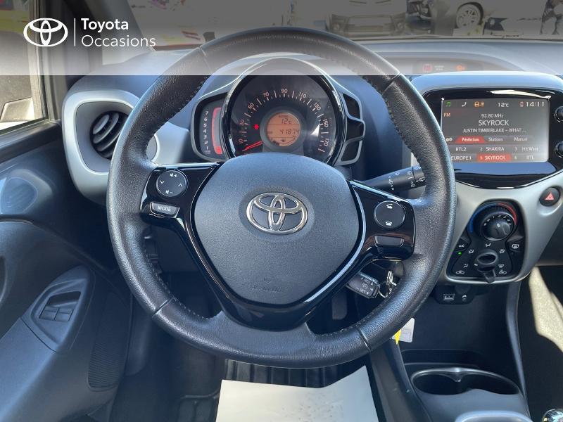 Photo 9 de l'offre de TOYOTA Aygo 1.0 VVT-i 69ch x-play 5p à 8980€ chez Altis - Toyota Vannes