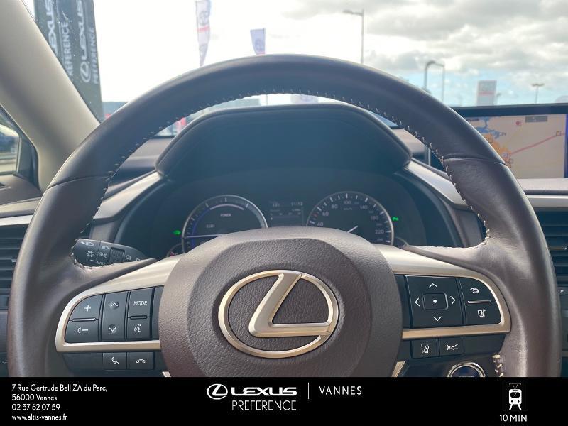 Photo 8 de l'offre de LEXUS RX 450h 4WD Luxe à 32980€ chez Altis - Toyota Vannes