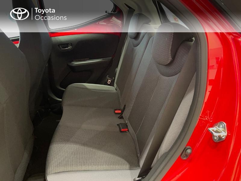 Photo 12 de l'offre de TOYOTA Aygo 1.0 VVT-i 72ch x-play 5p MY20 à 12290€ chez Altis - Toyota Vannes