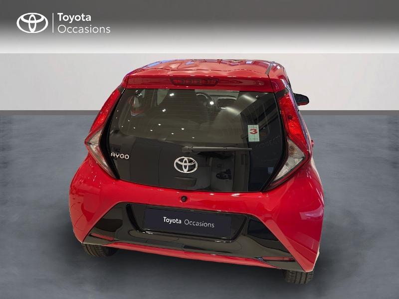 Photo 4 de l'offre de TOYOTA Aygo 1.0 VVT-i 72ch x-play 5p MY20 à 12290€ chez Altis - Toyota Vannes