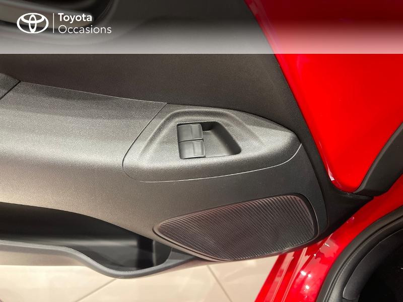 Photo 21 de l'offre de TOYOTA Aygo 1.0 VVT-i 72ch x-play 5p MY20 à 12290€ chez Altis - Toyota Vannes