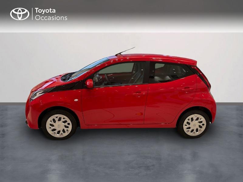 Photo 3 de l'offre de TOYOTA Aygo 1.0 VVT-i 72ch x-play 5p MY20 à 12290€ chez Altis - Toyota Vannes