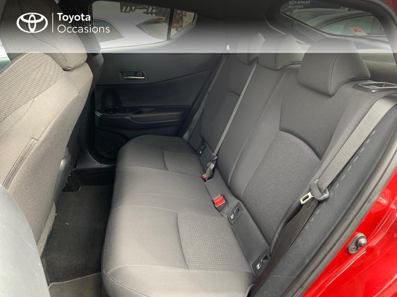 Photo 12 de l'offre de TOYOTA C-HR 122h Edition 2WD E-CVT RC18 à 18890€ chez Altis - Toyota Vannes
