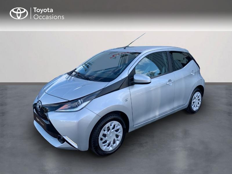 Toyota Aygo 1.0 VVT-i 69ch x-play 5p Essence GRIS TITANE Occasion à vendre
