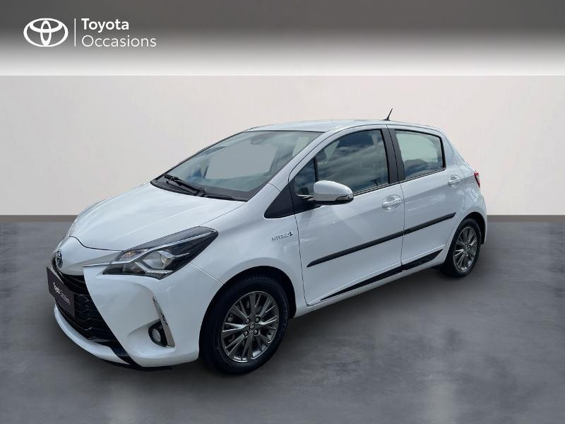 Toyota Yaris 100h Dynamic 5p Hybride Blanc Occasion à vendre