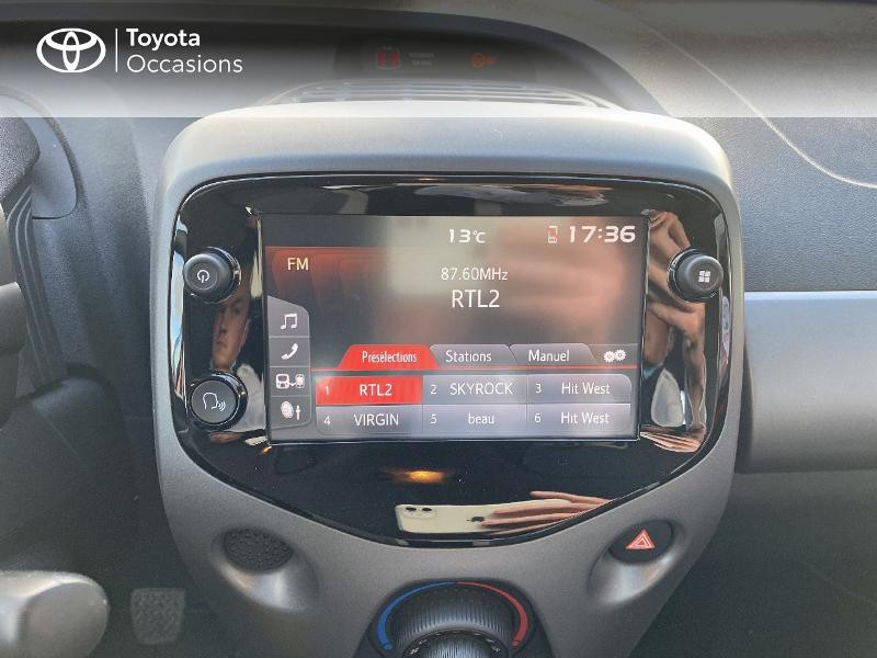 Photo 15 de l'offre de TOYOTA Aygo 1.0 VVT-i 72ch x-play 5p MY20 à 11590€ chez Altis - Toyota Vannes