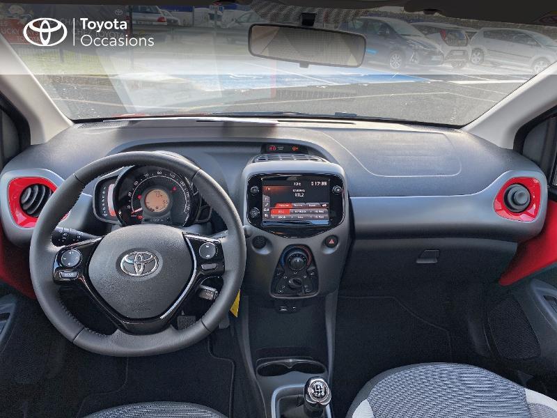 Photo 8 de l'offre de TOYOTA Aygo 1.0 VVT-i 72ch x-play 5p MY20 à 11590€ chez Altis - Toyota Vannes
