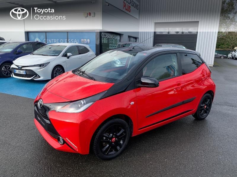Photo 25 de l'offre de TOYOTA Aygo 1.0 VVT-i 69ch x-cite 4 5p à 9880€ chez Altis - Toyota Vannes
