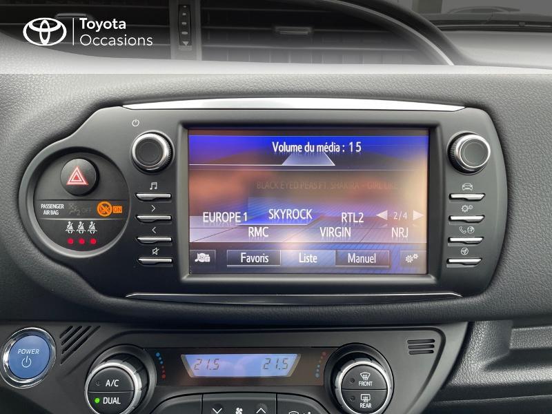 Photo 15 de l'offre de TOYOTA Yaris 100h Dynamic 5p à 15980€ chez Altis - Toyota Vannes