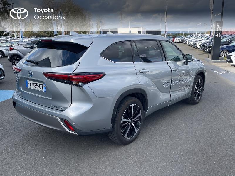 Photo 18 de l'offre de TOYOTA Highlander Hybrid 248ch Lounge AWD-I à 57980€ chez Altis - Toyota Vannes