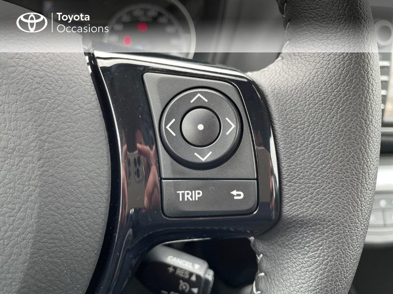Photo 20 de l'offre de TOYOTA Yaris 100h Dynamic 5p à 15980€ chez Altis - Toyota Vannes