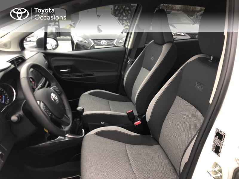 Photo 11 de l'offre de TOYOTA Yaris 70 VVT-i Design Y20 5p MY19 à 12980€ chez Altis - Toyota Vannes