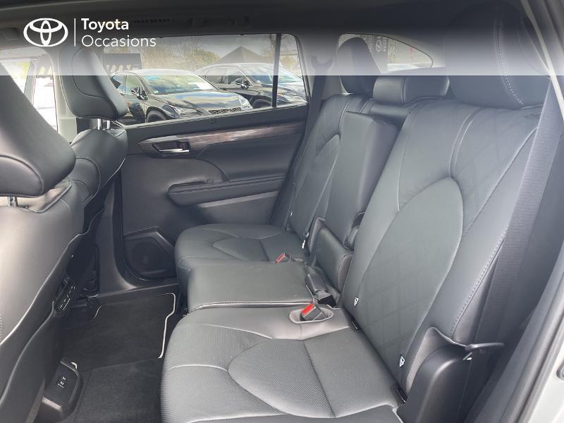 Photo 12 de l'offre de TOYOTA Highlander Hybrid 248ch Lounge AWD-I à 57980€ chez Altis - Toyota Vannes