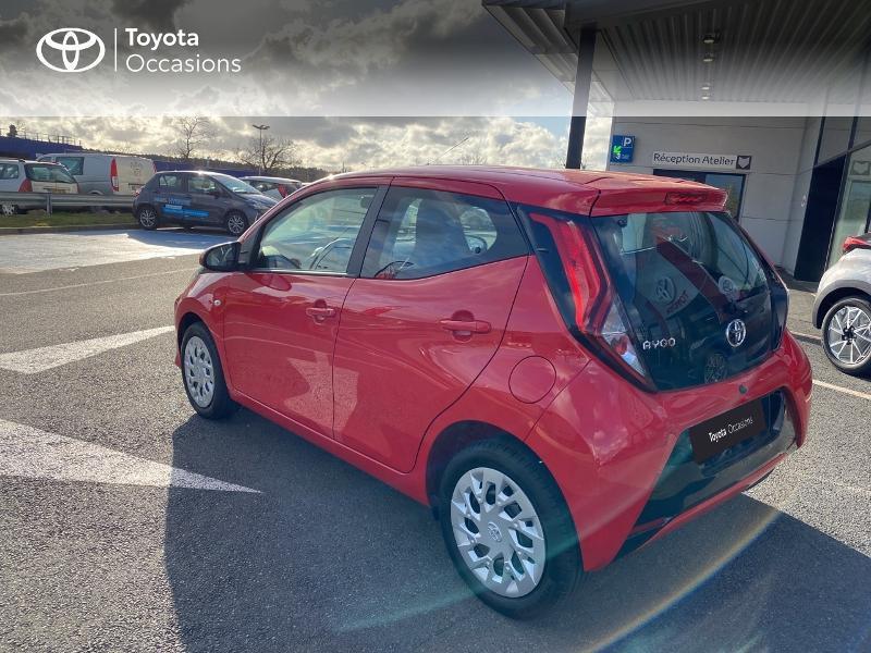 Photo 18 de l'offre de TOYOTA Aygo 1.0 VVT-i 72ch x-play 5p MY20 à 11590€ chez Altis - Toyota Vannes