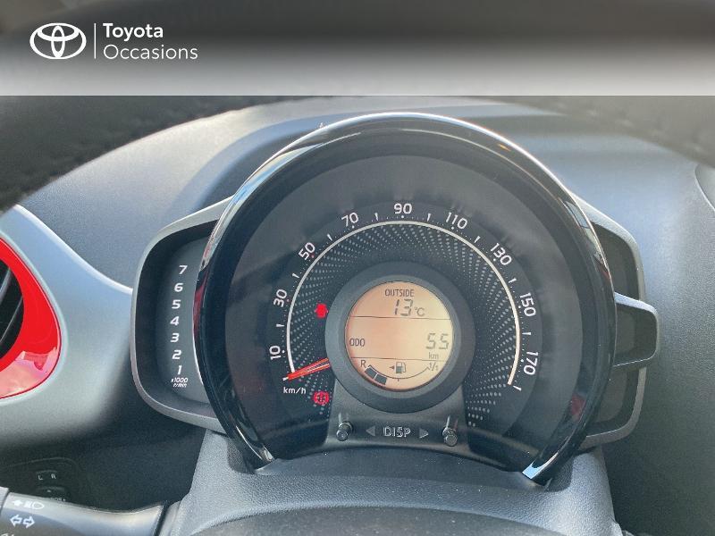 Photo 14 de l'offre de TOYOTA Aygo 1.0 VVT-i 72ch x-play 5p MY20 à 11590€ chez Altis - Toyota Vannes