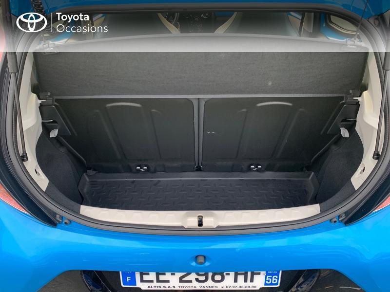 Photo 10 de l'offre de TOYOTA Aygo 1.0 VVT-i 69ch x-wave 2 5p à 9290€ chez Altis - Toyota Vannes