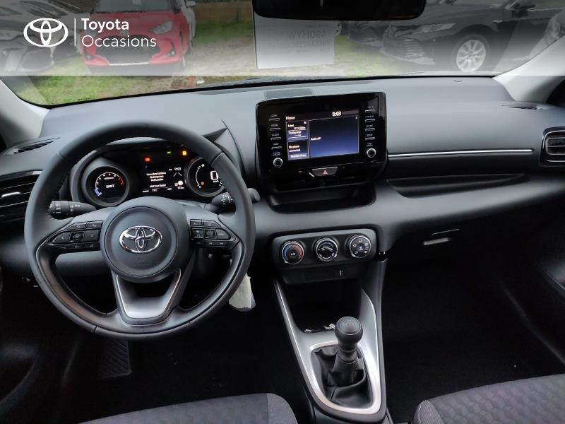 Photo 8 de l'offre de TOYOTA Yaris 120 VVT-i Design 5p à 17990€ chez Altis - Toyota Vannes