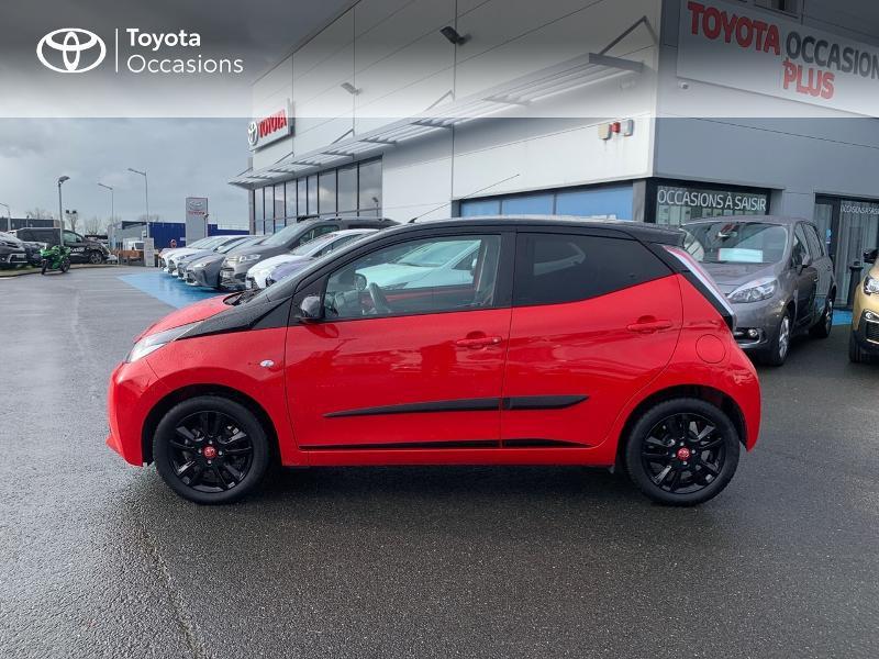 Photo 27 de l'offre de TOYOTA Aygo 1.0 VVT-i 69ch x-cite 4 5p à 9880€ chez Altis - Toyota Vannes