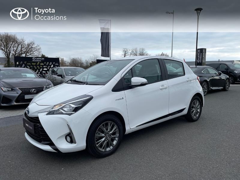 Photo 24 de l'offre de TOYOTA Yaris 100h Dynamic 5p à 15980€ chez Altis - Toyota Vannes
