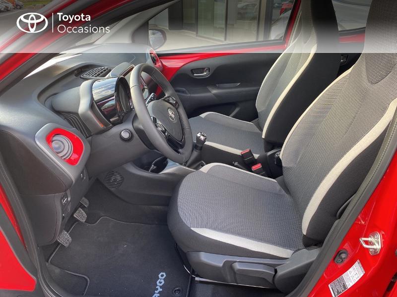 Photo 11 de l'offre de TOYOTA Aygo 1.0 VVT-i 72ch x-play 5p MY20 à 11590€ chez Altis - Toyota Vannes