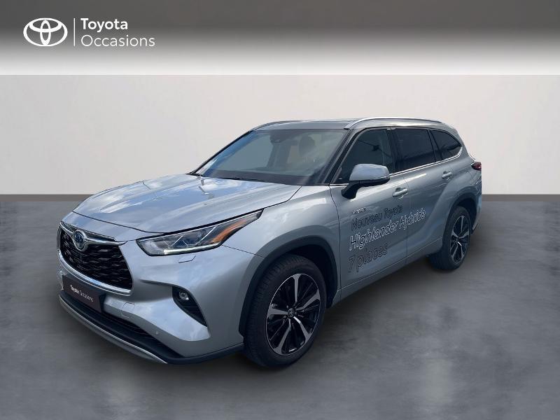 Photo 1 de l'offre de TOYOTA Highlander Hybrid 248ch Lounge AWD-I à 57980€ chez Altis - Toyota Vannes