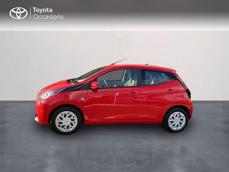 Photo 3 de l'offre de TOYOTA Aygo 1.0 VVT-i 72ch x-play 5p MY20 à 11590€ chez Altis - Toyota Vannes