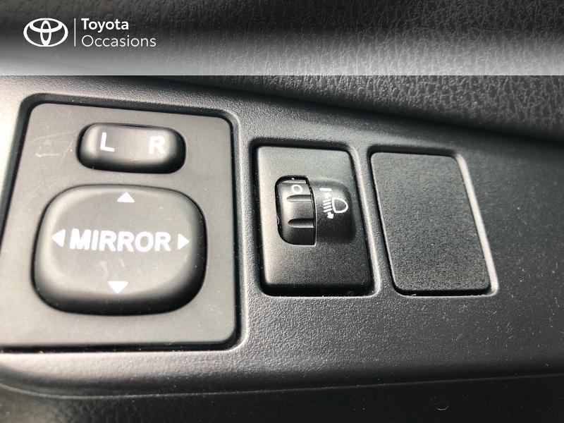 Photo 7 de l'offre de TOYOTA Yaris 70 VVT-i Design Y20 5p MY19 à 12980€ chez Altis - Toyota Vannes