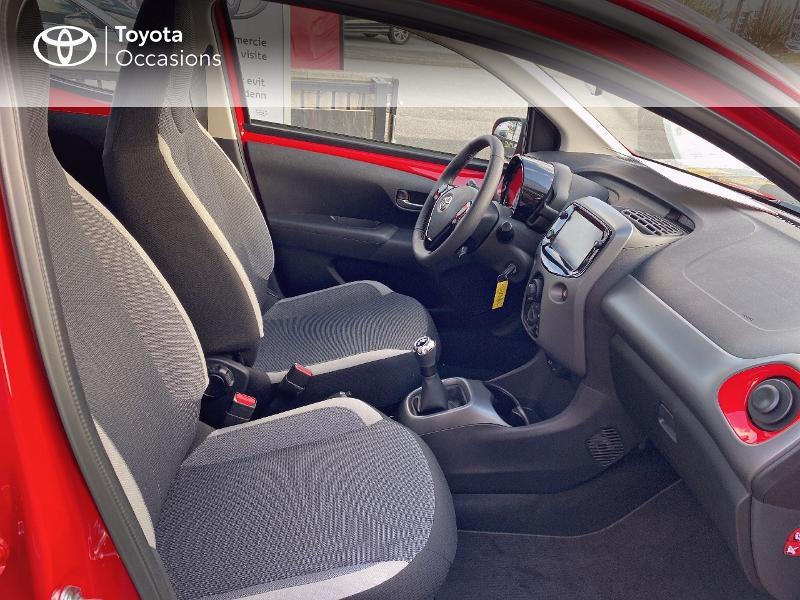 Photo 6 de l'offre de TOYOTA Aygo 1.0 VVT-i 72ch x-play 5p MY20 à 11590€ chez Altis - Toyota Vannes