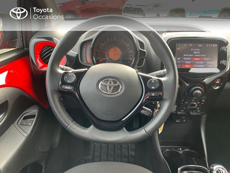 Photo 9 de l'offre de TOYOTA Aygo 1.0 VVT-i 69ch x-cite 4 5p à 9880€ chez Altis - Toyota Vannes