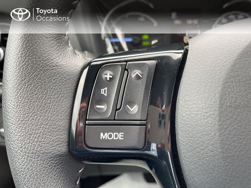 Photo 17 de l'offre de TOYOTA Yaris 100h Dynamic 5p RC18 à 15490€ chez Altis - Toyota Vannes