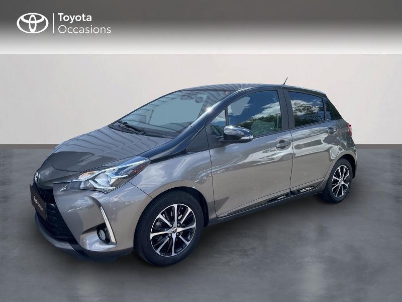 Toyota Yaris 110 VVT-i Design 5p RC18 Essence BI-TON GRIS DUNE /NOIR Occasion à vendre